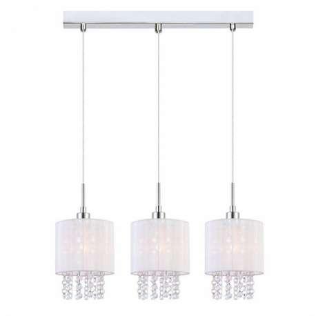 lampa wisząca ASTRA potrójna biała - BZL