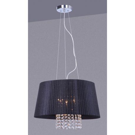 lampa wisząca LUISA duża czarna - BZL