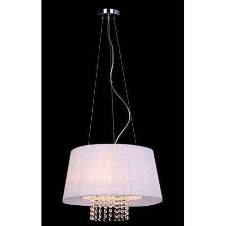 lampa wisząca LUISA duża biała - BZL