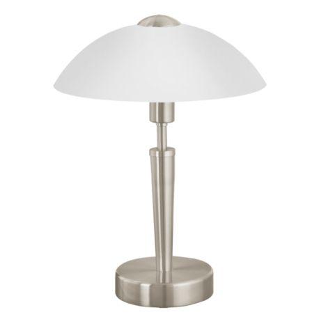 lampa nocna SOLO 1 nikiel mat