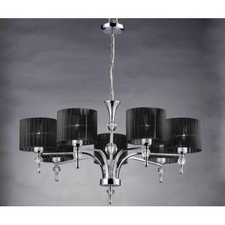 lampa wisząca IMPRESS 7 BIG brązowa ŻARÓWKI LED GRATIS!