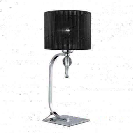 lampa stołowa IMPRESS czarna ŻARÓWKA LED GRATIS!