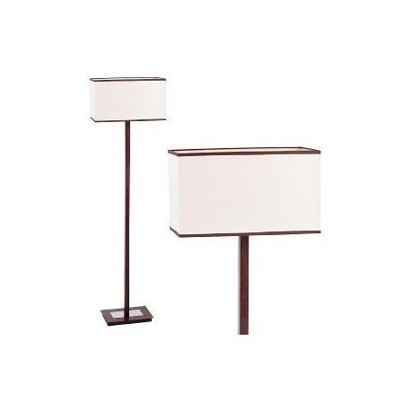 lampa podłogowa KUBU beżowy/brązowy