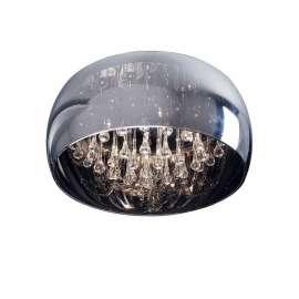 lampa sufitowa/plafon CRYSTAL duży BZL