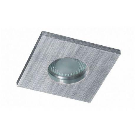 oczko kwadratowe SU CLASSIC aluminium szczotkowane GU5.3 IP65
