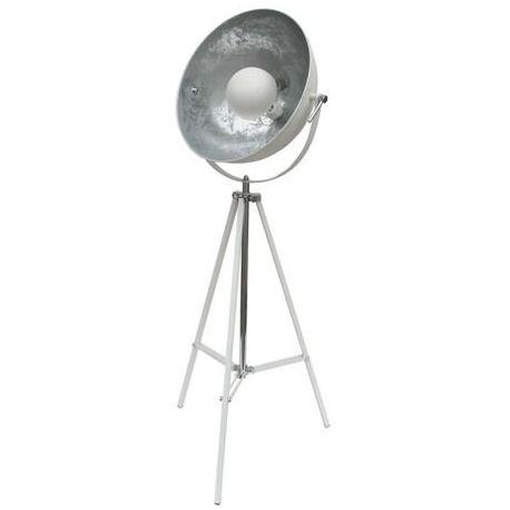 lampa podłogowa ANTENNE biały/srebrny BZL PROMOCJA