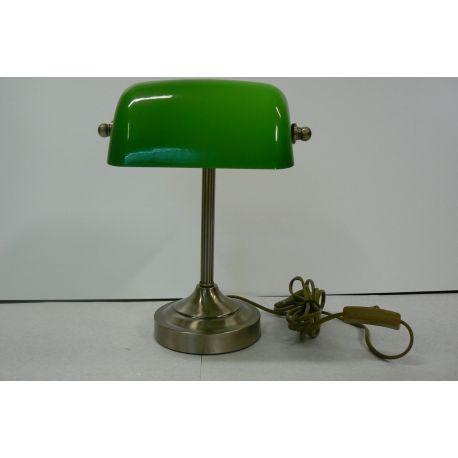 lampa biurkowa BANKER Green/Bronze OD RĘKI!