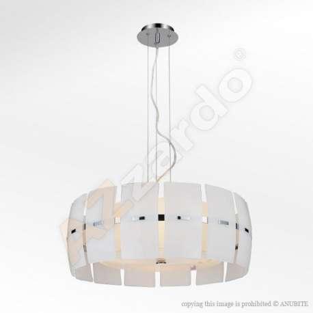 lampa wisząca TAURUS biała ŻARÓWKI LED GRATIS!