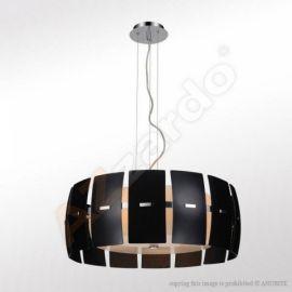 lampa wisząca TAURUS 2 czarny ŻARÓWKI LED GRATIS!