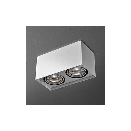 lampa sufitowa SQUARES 50x2 230V