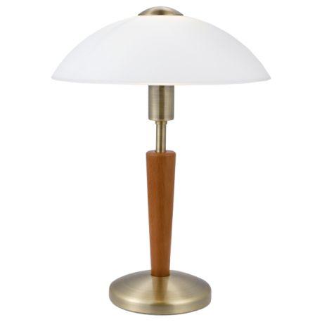 lampa nocna SOLO 1 orzech ŻARÓWKA LED GRATIS!