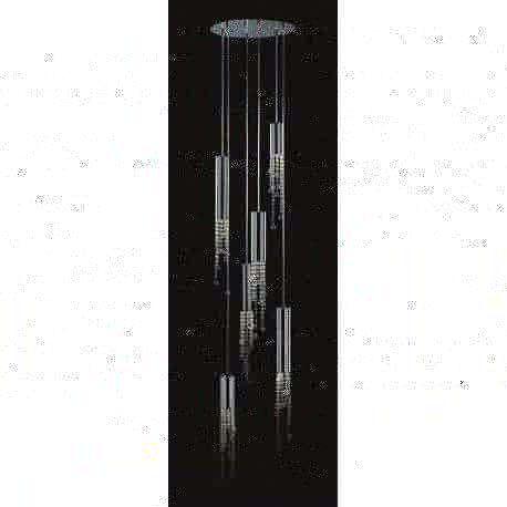 lampa wisząca LARIX 6x35 W - BZL