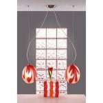 lampa wisząca podwójna PLUM RED Z2/MEDIUM PROMOCJA OD RĘKI
