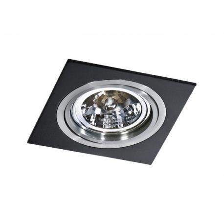 oczko SIRO 1 czarny/aluminium