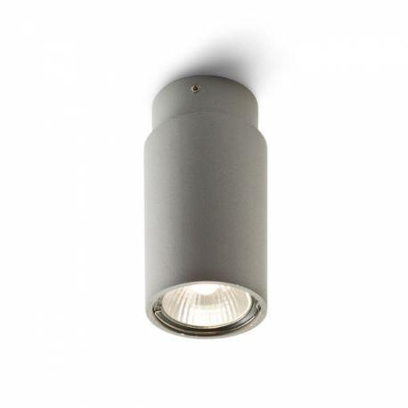 lampa sufitowa EX GU10 srebrnoszara