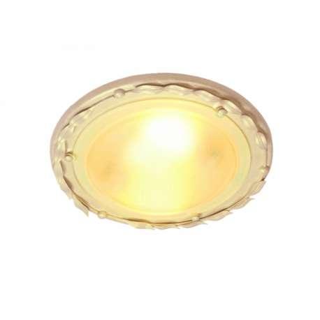 plafon OLIVIA 1xE27 kość słoniowa/złoty ŻARÓWKA LED GRATIS!