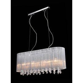 lampa wisząca ISLA 4xE14 biała - BZL
