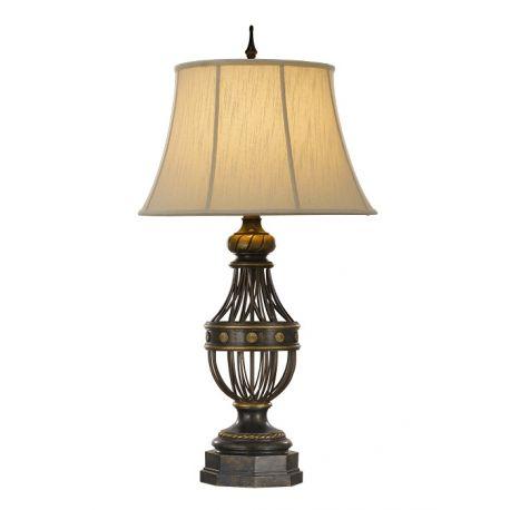 lampa stołowa AUGUSTINE + abażur ŻARÓWKA LED GRATIS!