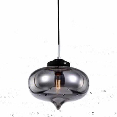 lampa wisząca HEART czarna - BZL