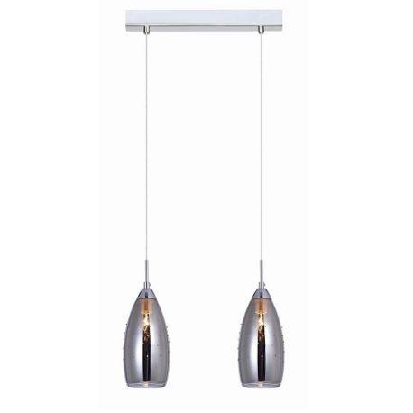 lampa wisząca GRACE 2xE14 szkło lustrzane - BZL