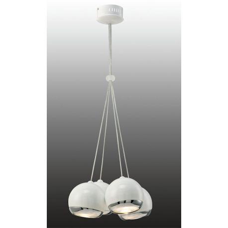 lampa wisząca SFERIO poczwórna biała - BZL