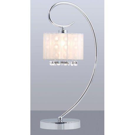 lampa stołowa SPAN z białym kloszem