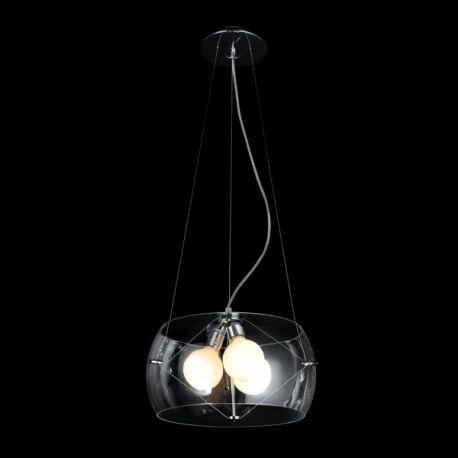lampa wisząca COSMO przeźroczysta ŻARÓWKI LED GRATIS!