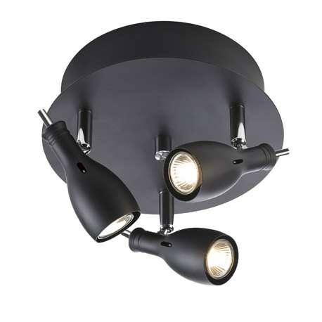 lampa sufitowa LAMMHULT czarna OD RĘKI