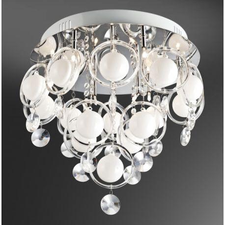 lampa sufitowa LISA biała