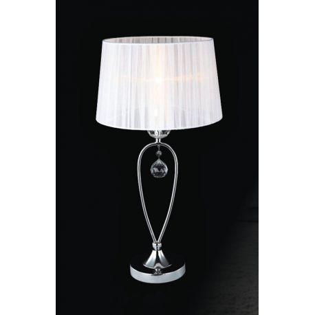 lampa stołowa VIVIEN biała - BZL