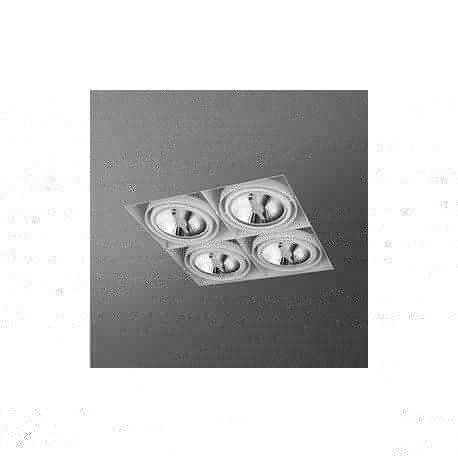 oczko SQUARES 111x4 SQ trimless 230V