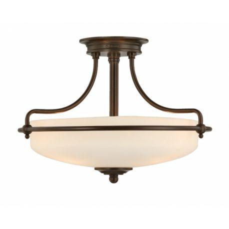 lampa sufitowa GRIFFIN mała ŻARÓWKI LED GRATIS!