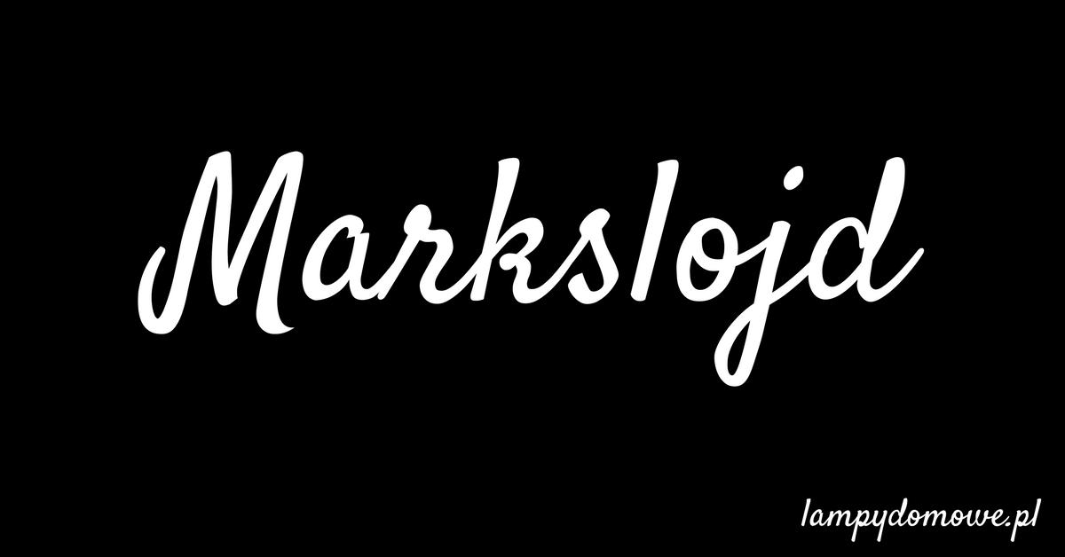 Lampy Markslojd