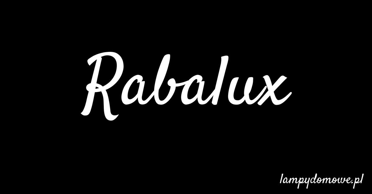 Lampy Rabalux